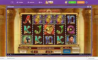 cookie casino slots screenshot
