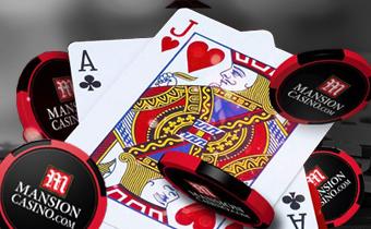 mansion casino blackjack image